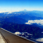 The Ecuadorean Andes from the air