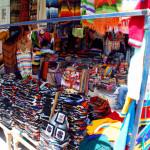 A cornucopia of clothing, Otavalo market, Otavalo, Ecuador