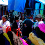 The art of the deal, Otavalo market, Otavalo, Ecuador