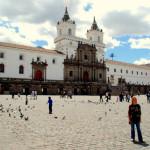 San Francisco monastery, Centro Historico, Quito, Ecuador