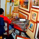 Artist, La Ronda, Quito, Ecuador