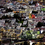 Quito crawls up the slopes of the Andes