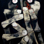 Bloody Tears by Oswaldo Guayasamin, Quito, Ecuador