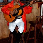 Juan Tapia, Galapagos guide and musician
