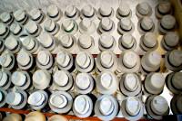 Panama hats for sale, Cuenca, Ecuador