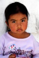 Young Quechua girl, Otavalo, Ecuador