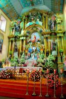 Interior, Santuario Mariano, Cuenca, Ecuador
