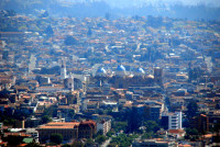 smog lingers over central Cuenca