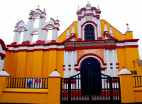 Church of San Augustin, historic Trujillo, Peru