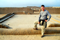 Rod and Chan Chan excavations, Trujillo, Peru
