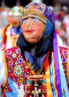 Dazzling costumes,cultural festival, Cusco, Peru