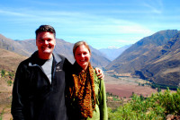 Rod and Christi, Sacred Valley, Peru