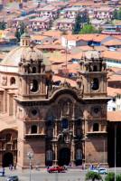 La Compania de Jesus church, Cusco, Peru