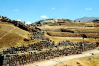 The Inca site of Saqsaywaman, Cusco, Peru