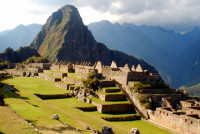 Machu Picchu, after the crowds have gone, Peru