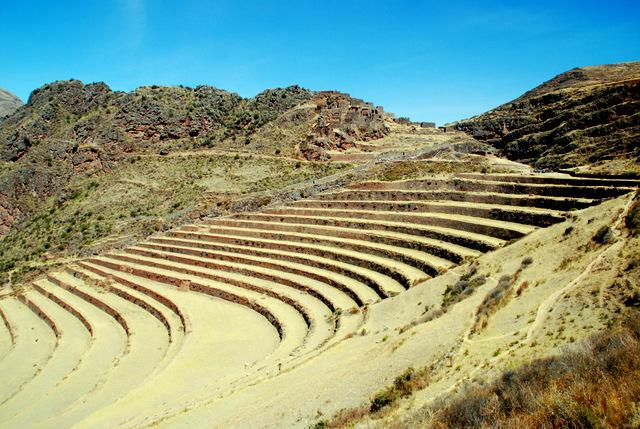 Inca Citadel, Pisaq, Sacred Valley, Peru