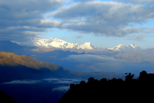 Sunrise over Mt. Pumaciello, Inca Trail, Peru