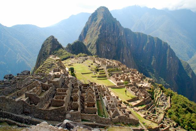 Machu Picchu, 'The Lost City of the Incas', Peru