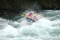 Serious white water on the Rio Manso, Argentina