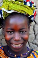 Fulani girl, village of Senossa, Mali, Africa