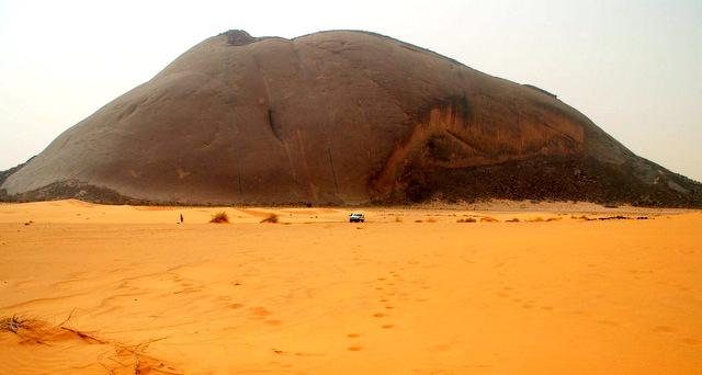 Ben Amira monolith, Mauritania, Africa