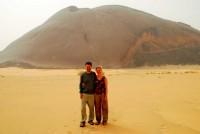 This isn't Ayer's Rock. We must have taken a wrong turn. Ben Amira, Mauritania, Africa