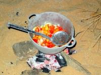 Dinner, Ben Amira, Mauritania, Africa