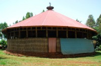 Ura Kidane Mehret church, Lake Tana, near Bahir Dar, Ethiopia, Africa