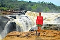 Atop Murchison Falls, Murchison Falls National Park, Uganda, Africa