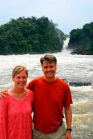 The Nile River and Murchison Falls, Murchison Falls National Park, Uganda, Africa