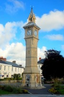 Prince Albert Clock, Town Square, Barnstaple, UK