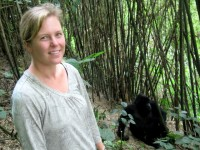 Christi visits the Sabyinyo Mountain Gorilla Group, Volcanoes National Park, Rwanda, Africa