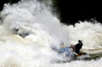 Rafting the Nile at Jinja, Uganda, Africa