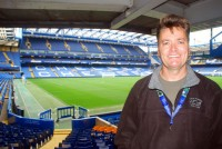Stamford Bridge, home of Chelsea football club, London, UK