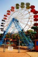 Ferris Wheel at al-Mogran Family Park (closed), Khartoum, Sudan, Africa